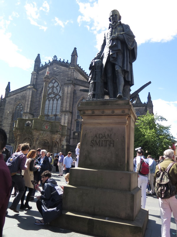 Adam Smith, Scottish Enlightenment, Royal Mile, Edinburgh International Festival