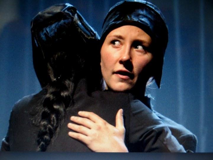 Erin Doherty, Weruche Opia, The Divide, Edinburgh International Festival