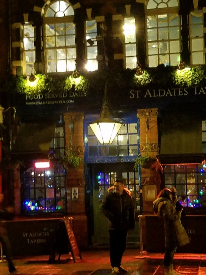 Oxford, pub, Oxford Christmas 2017