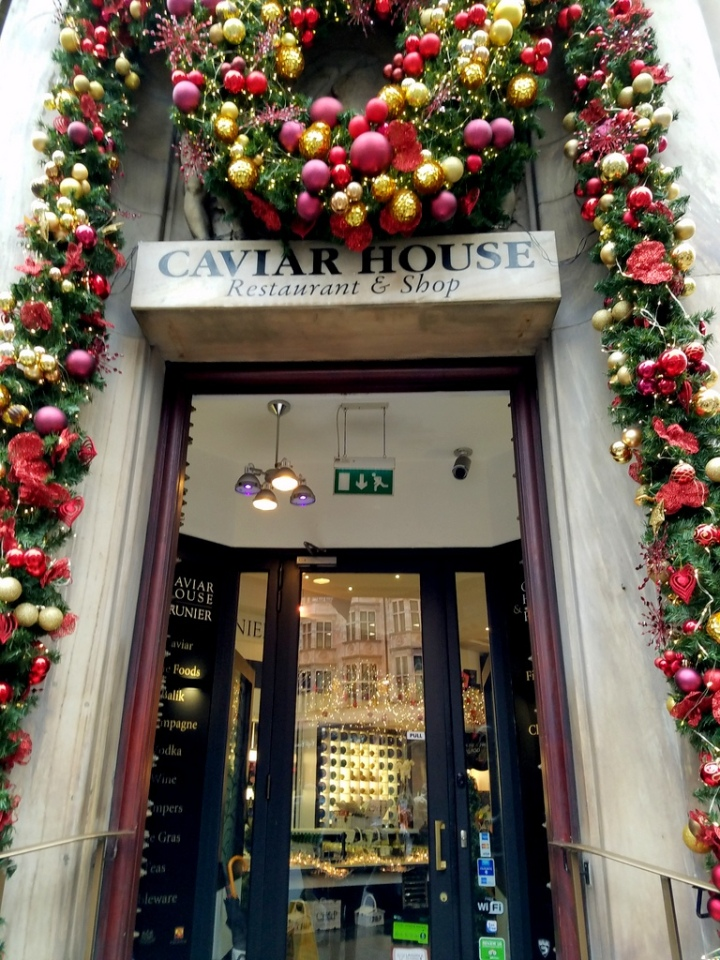 London, Green Park, Caviar House, Christmas Punch, London Christmas 2017