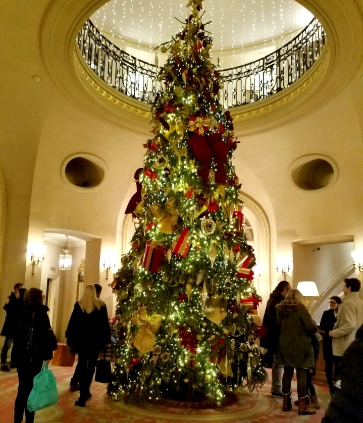 The Ritz Hotel, London, UK, London Christmas 2017