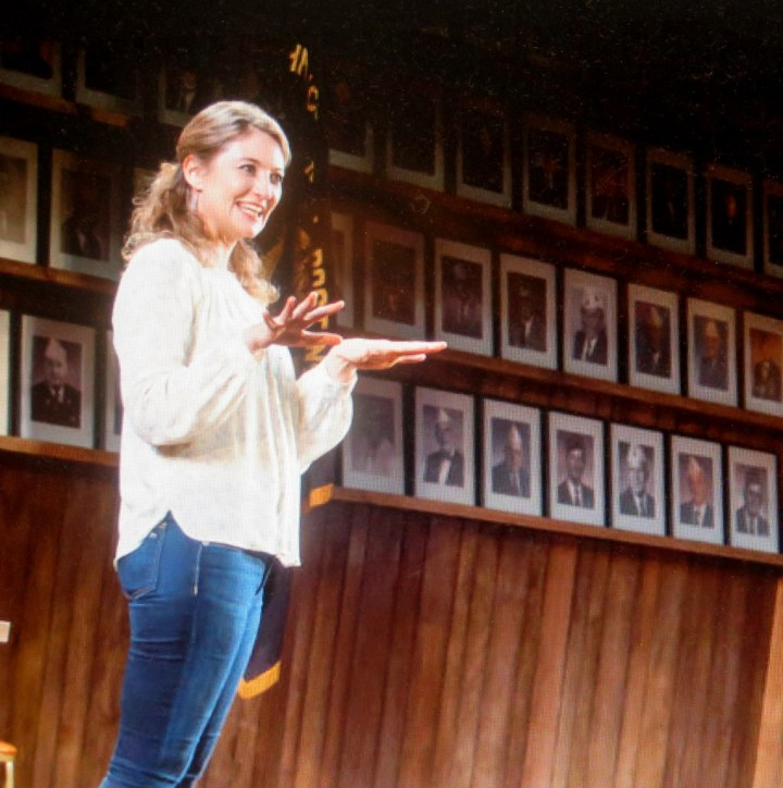 Heidi Schreck, What the Constitution Meanst o Me,Oliver Butler, Helen Hayes Theater